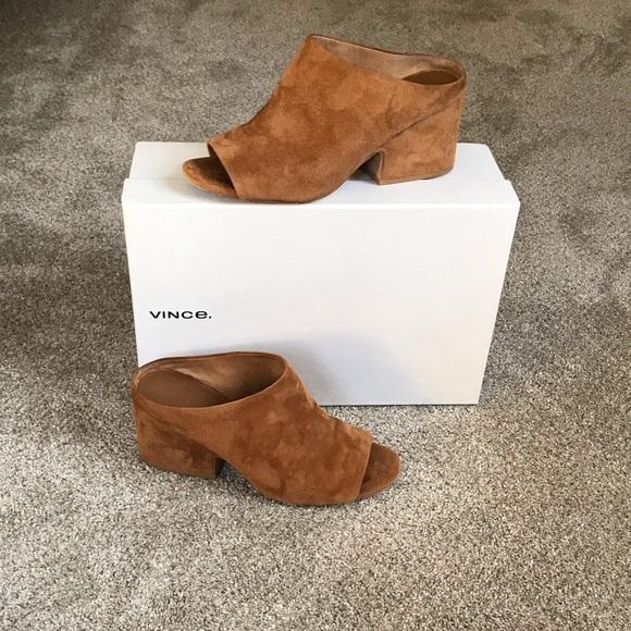 Vince Shoes   Vince Petra Suede Mule